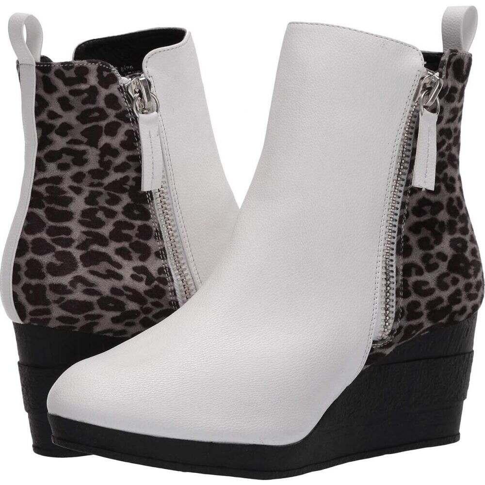 スビカ Sbicca レディース ブーツ シューズ・靴【Hegan】White/Leopard