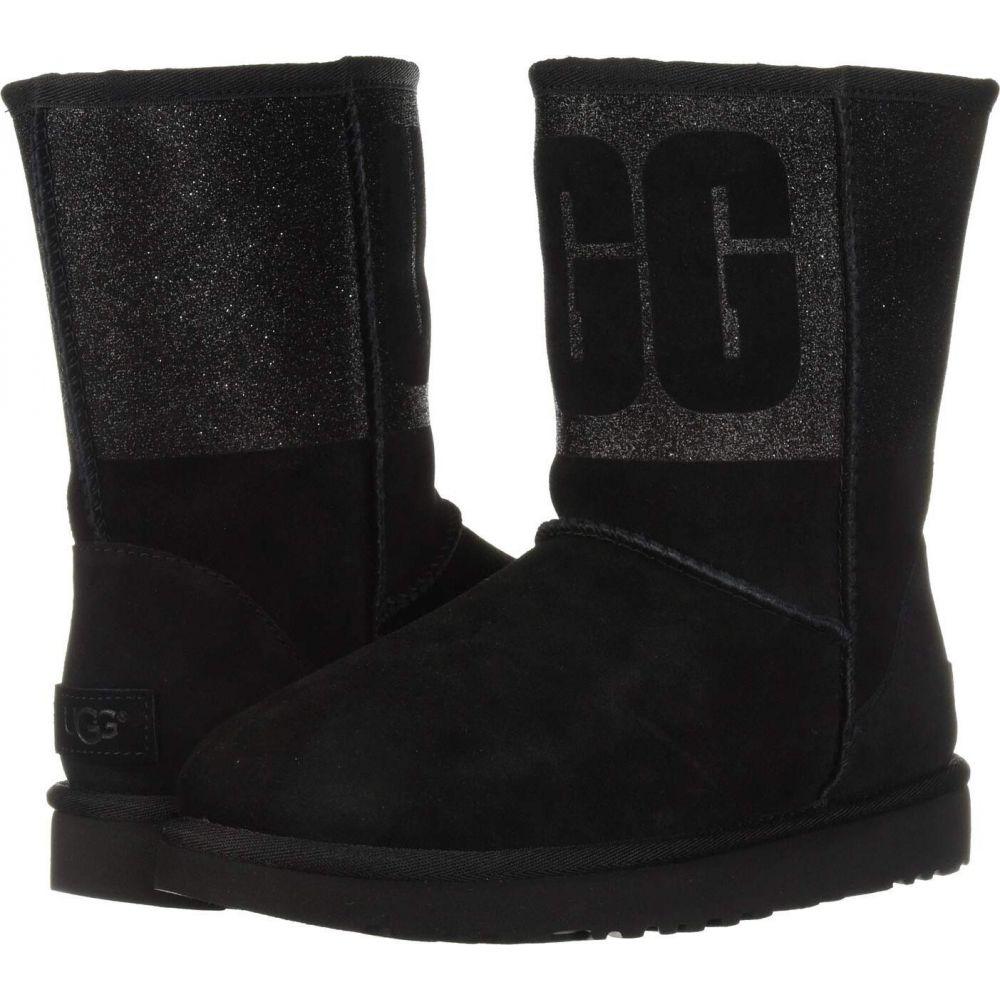アグ UGG レディース ブーツ シューズ・靴【Classic Short Sparkle】Black