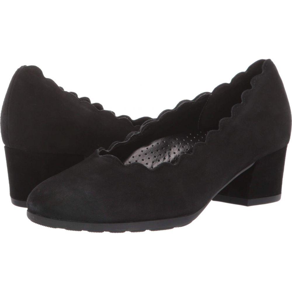 ガボール Gabor レディース パンプス シューズ・靴【32.211】Black Samtchevreau