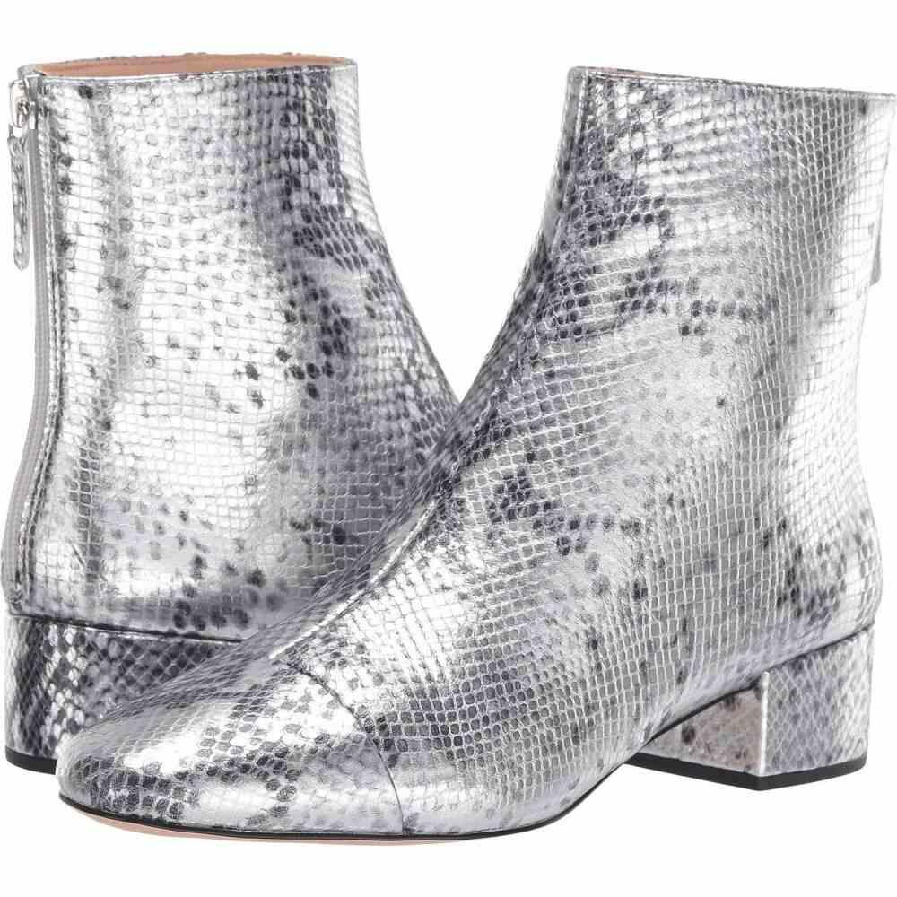J.Crew ジェイクルー レディース Silver Boot】Metallic Leona Snake シューズ・靴【Metallic ブーツ