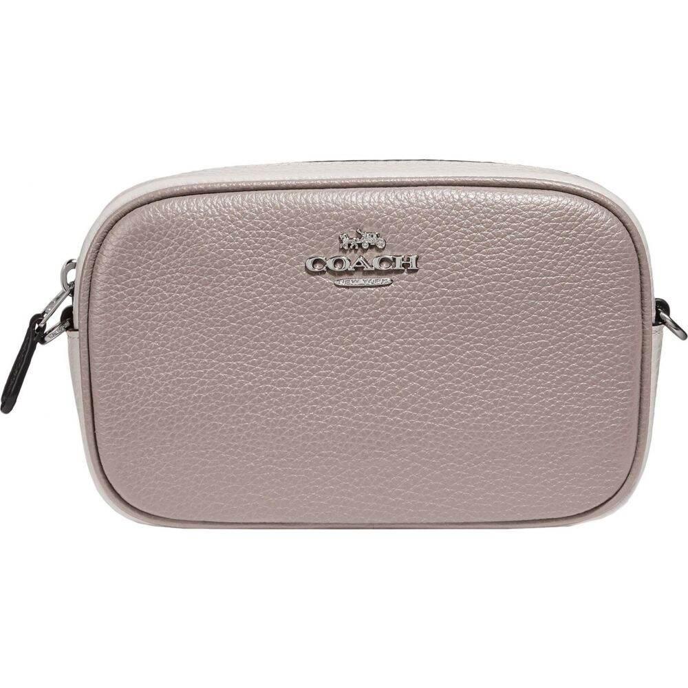 コーチ COACH レディース ボディバッグ・ウエストポーチ バッグ【Pop Block Leather Convertible Belt Bag】Grey Birch/Multi