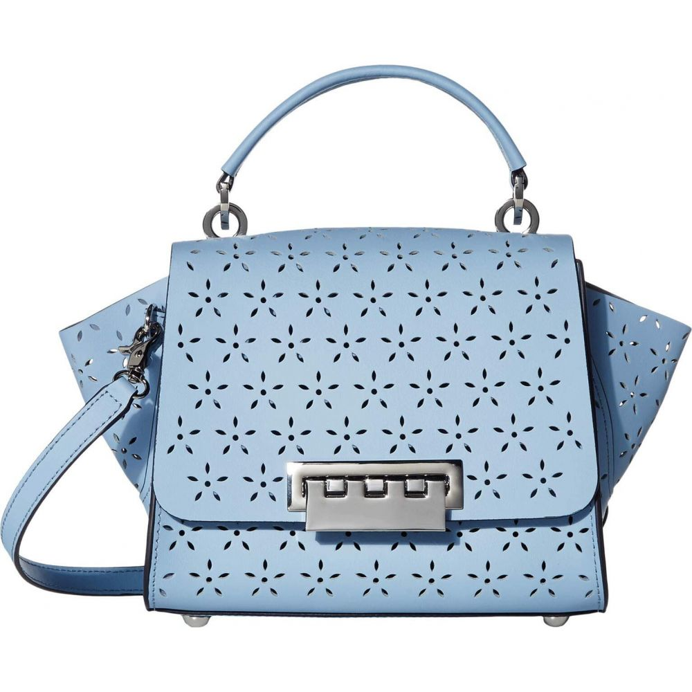 ザック ポーゼン ZAC Zac Posen レディース ショルダーバッグ バッグ【Eartha Top-Handle Crossbody - Floral Perforation】Skyway