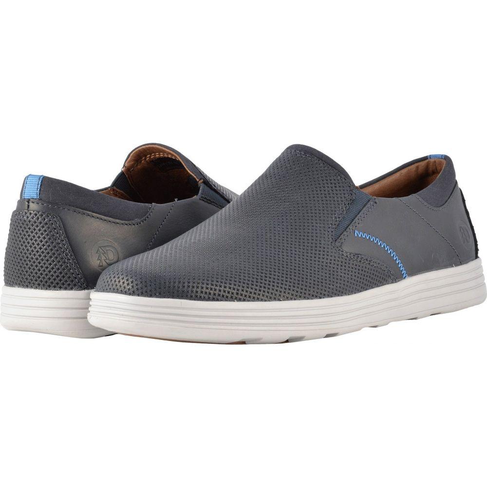 ダナム Dunham メンズ スリッポン・フラット シューズ・靴【Colchester Slip-On】Blue
