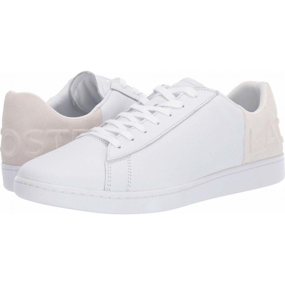 ラコステ Lacoste メンズ スニーカー シューズ・靴【Carnaby Evo 419 2】White/Off-White