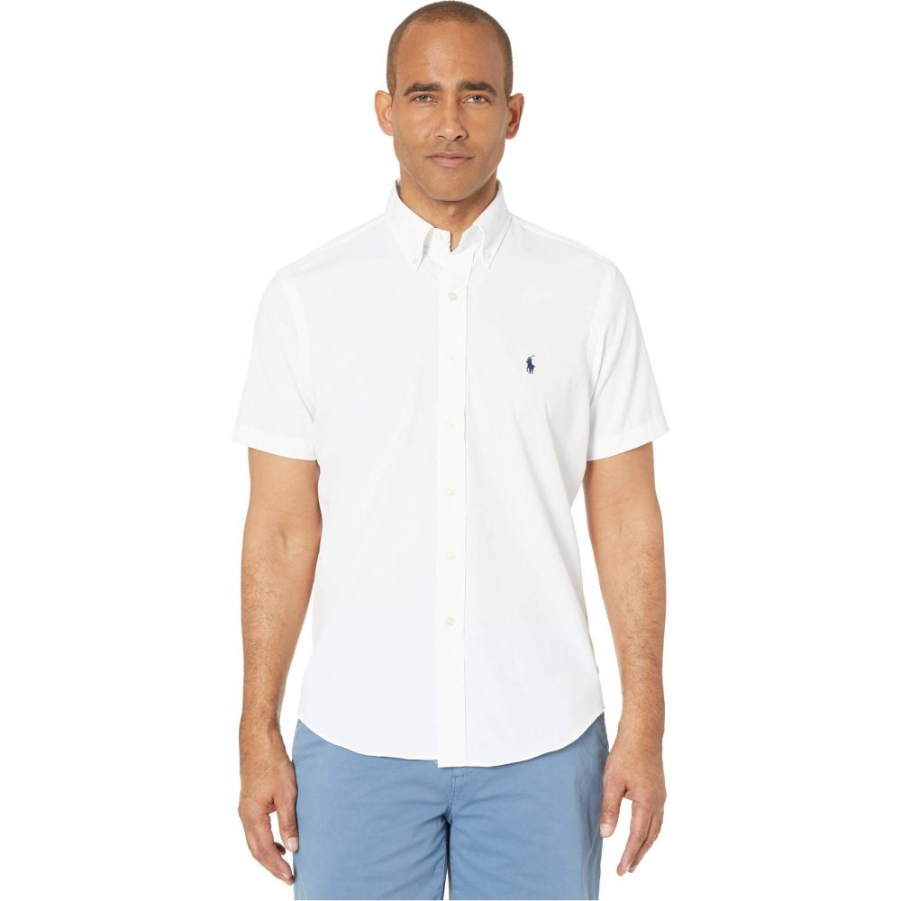 ラルフ ローレン Polo Ralph Lauren メンズ シャツ トップス【Classic Fit Performance Shirt】White