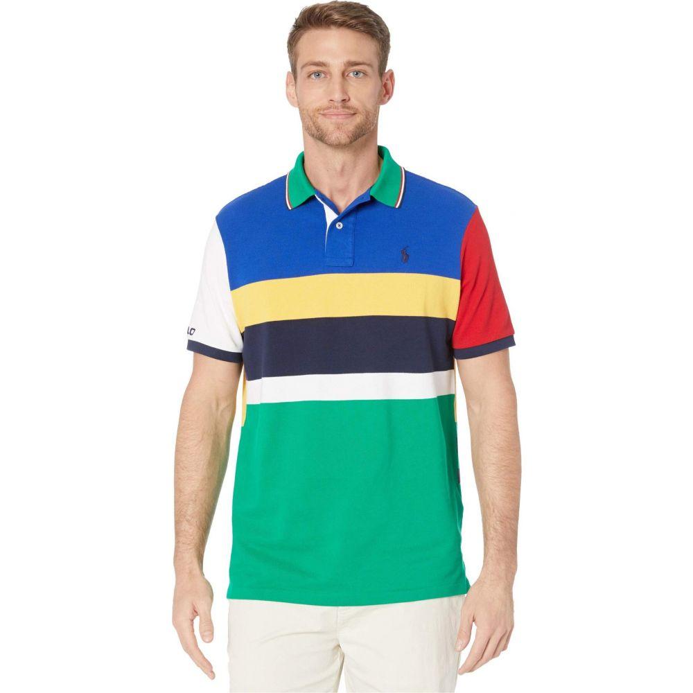 ラルフ ローレン Polo Ralph Lauren メンズ ポロシャツ トップス【Classic Fit Mesh Polo】Blue Multi