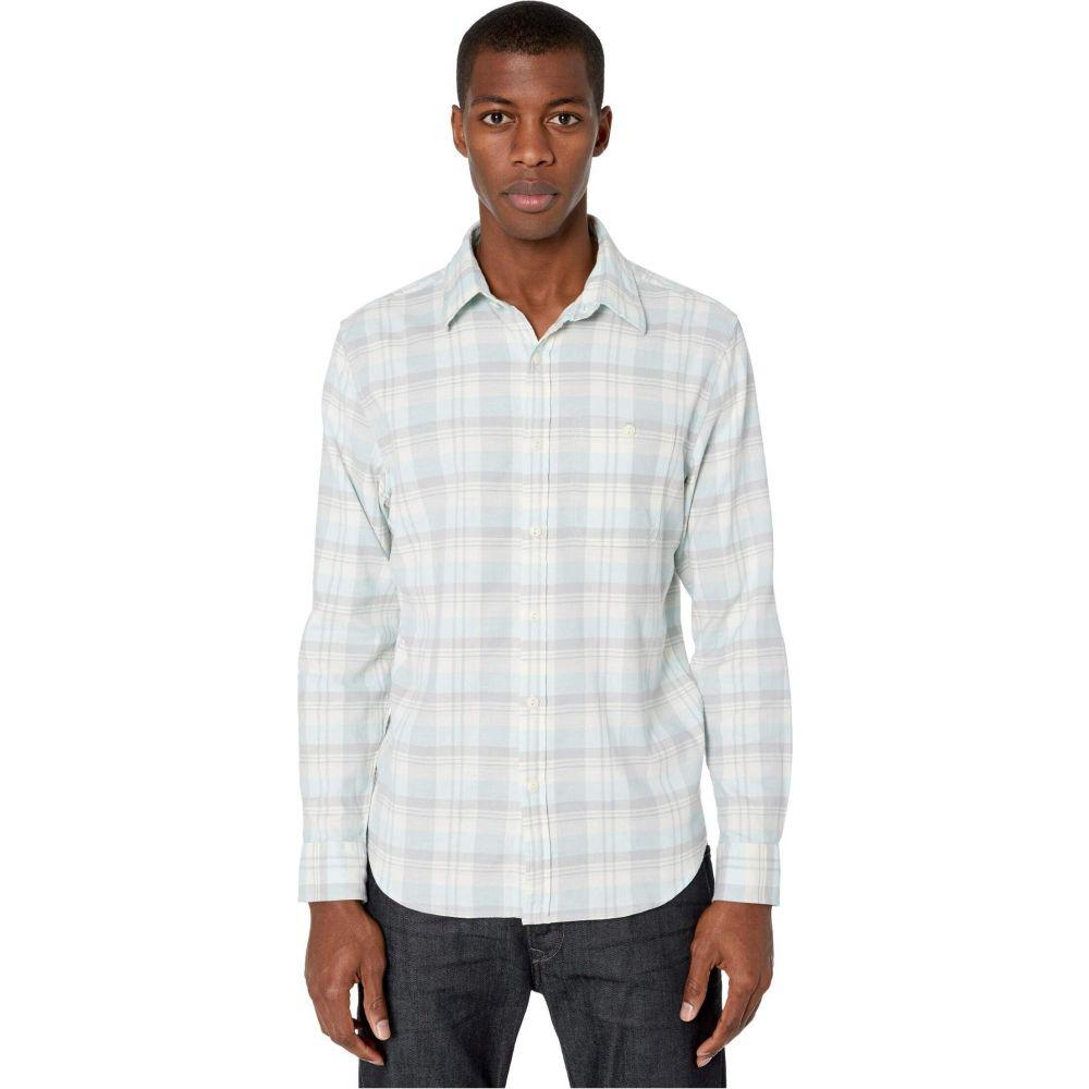 ヴィニヤードヴァインズ Vineyard Vines メンズ シャツ トップス【Slim Fit Tamarind Longshore Shirt】Barracuda