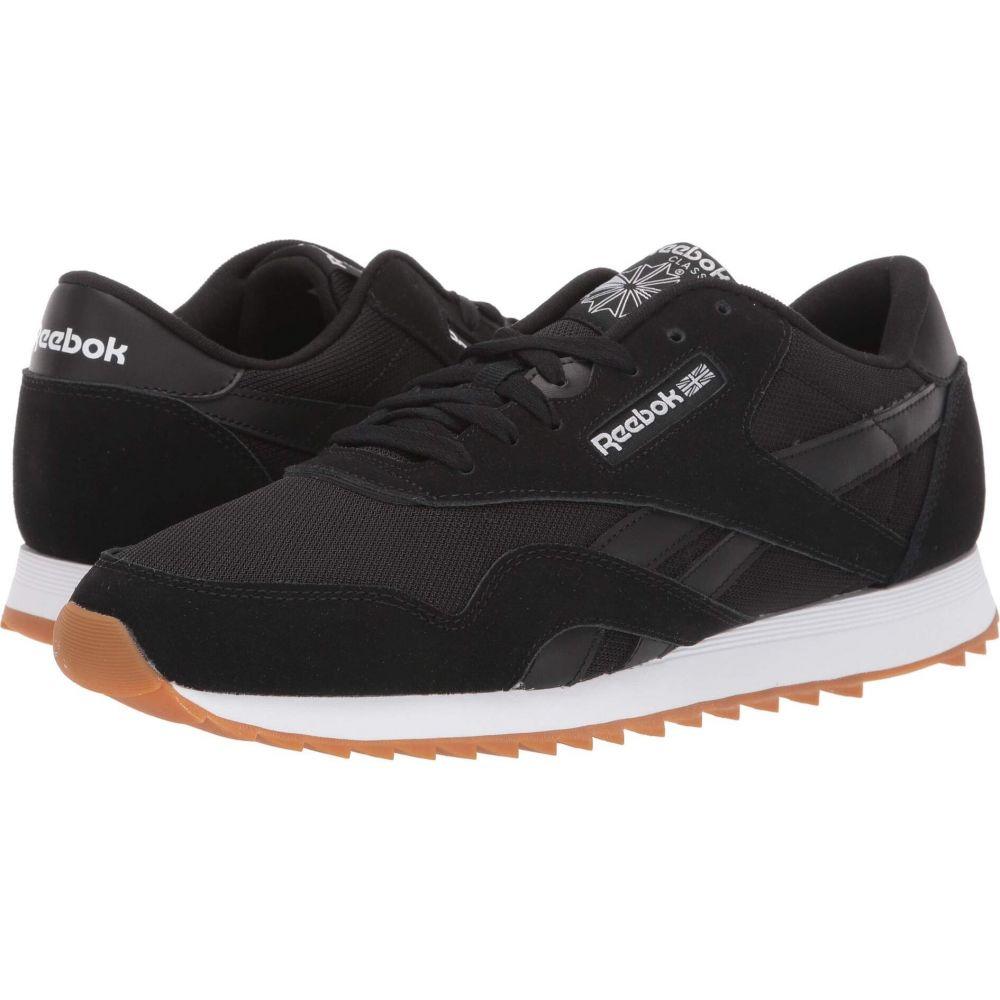リーボック Reebok メンズ スニーカー シューズ・靴【Classic Nylon Ripple MU】Black/White/Grey/Gum