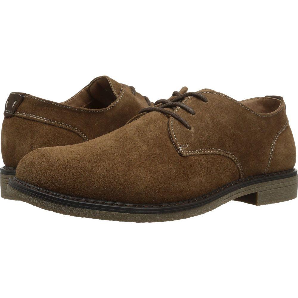 ナンブッシュ Nunn Bush メンズ 革靴・ビジネスシューズ シューズ・靴【Linwood Plain Toe Oxford】Camel Suede