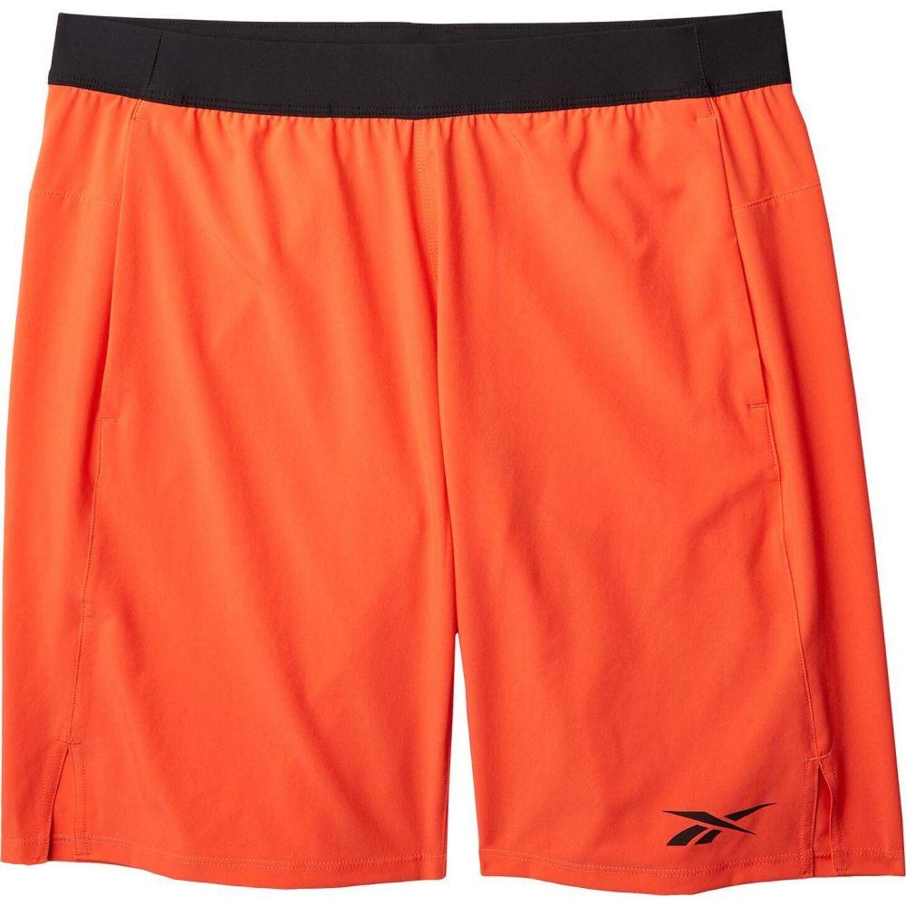リーボック Reebok メンズ ショートパンツ ボトムス・パンツ【TS Speed Shorts】Vivid Orange