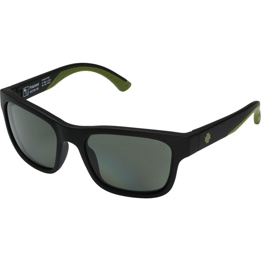 スパイ Spy Optic ユニセックス メガネ・サングラス 【Hunt】Matte Black Olive/Happy Gray/Green Polar