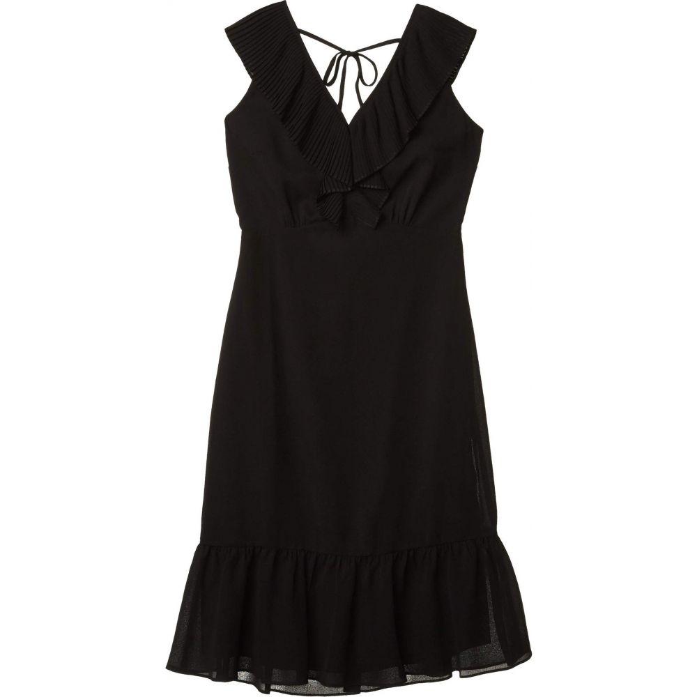 サム エデルマン Sam Edelman レディース ワンピース ミニ丈 ワンピース・ドレス【Mini Pleat Neckline Dress】Black