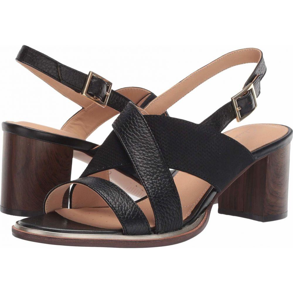 クラークス Clarks レディース サンダル・ミュール シューズ・靴【Ellis Tilda】Black Leather