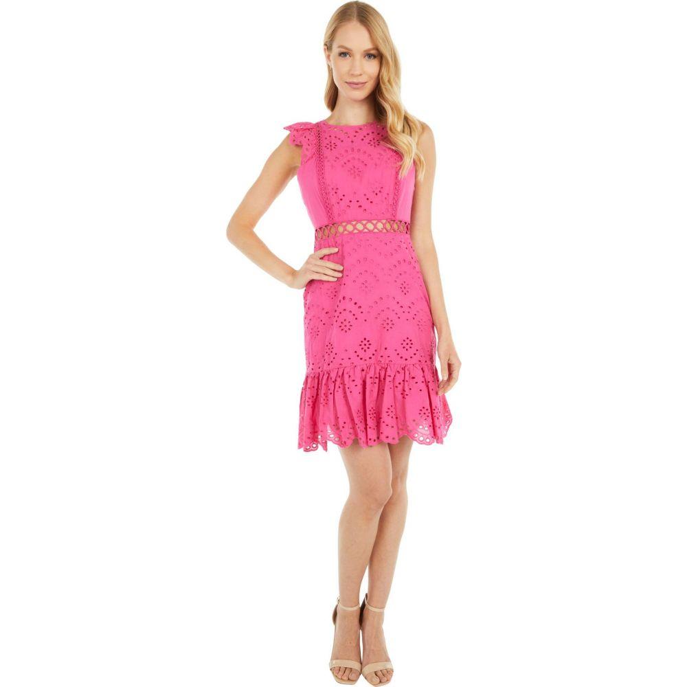 サム エデルマン Sam Edelman レディース ワンピース ワンピース・ドレス【Eyelet Dress】Hot Pink