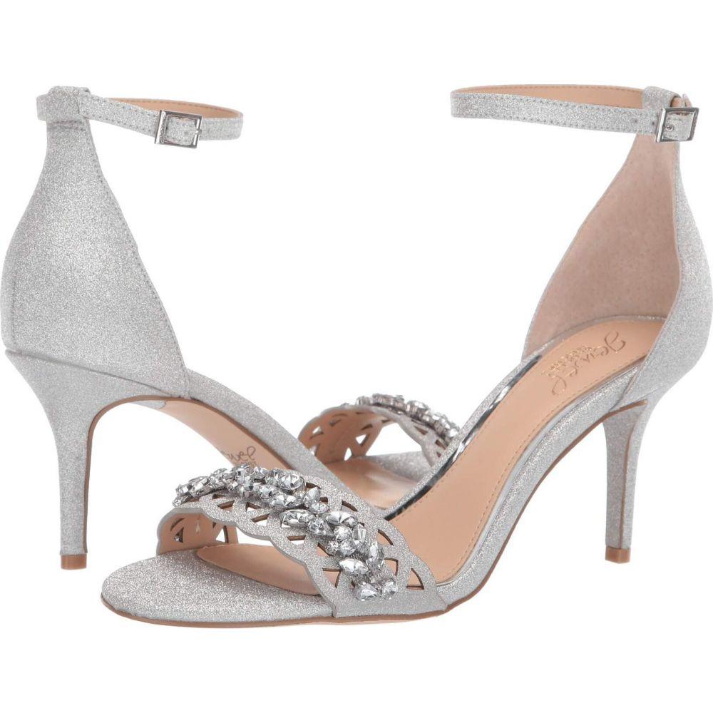 バッジェリー ミシュカ Jewel Badgley Mischka レディース サンダル・ミュール シューズ・靴【Kirsten】Silver