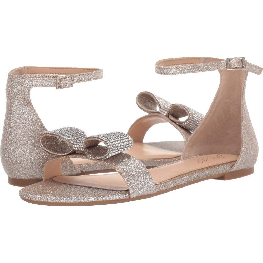 バッジェリー ミシュカ Jewel Badgley Mischka レディース サンダル・ミュール シューズ・靴【Una】Light Gold