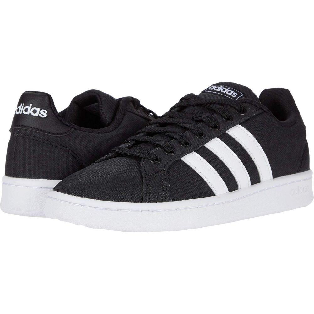 アディダス adidas メンズ スニーカー シューズ・靴【Grand Court】Core Black/Footwear White/Footwear White