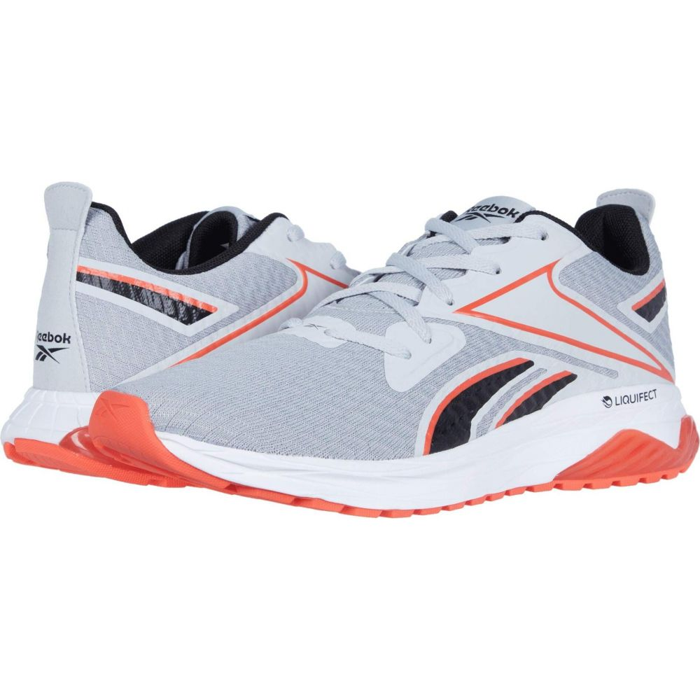 リーボック Reebok メンズ ランニング・ウォーキング シューズ・靴【Liquifect 180 SPT】Pure Grey/Black/Vivid Orange