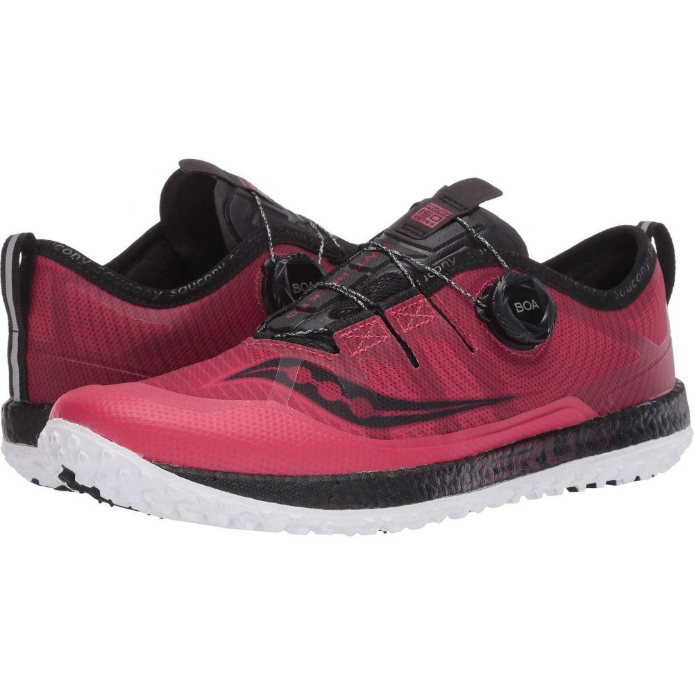 サッカニー Saucony レディース ランニング・ウォーキング シューズ・靴【Switchback ISO】Barberry/Black