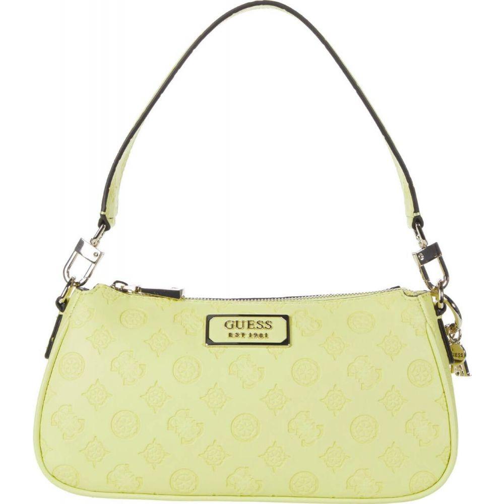 ゲス GUESS レディース ショルダーバッグ バッグ【Logo Love Shoulder Bag】Lime