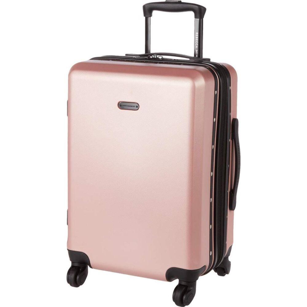 レベッカ ミンコフ Rebecca Minkoff レディース スーツケース・キャリーバッグ バッグ【Stud Carry-Over】Pink