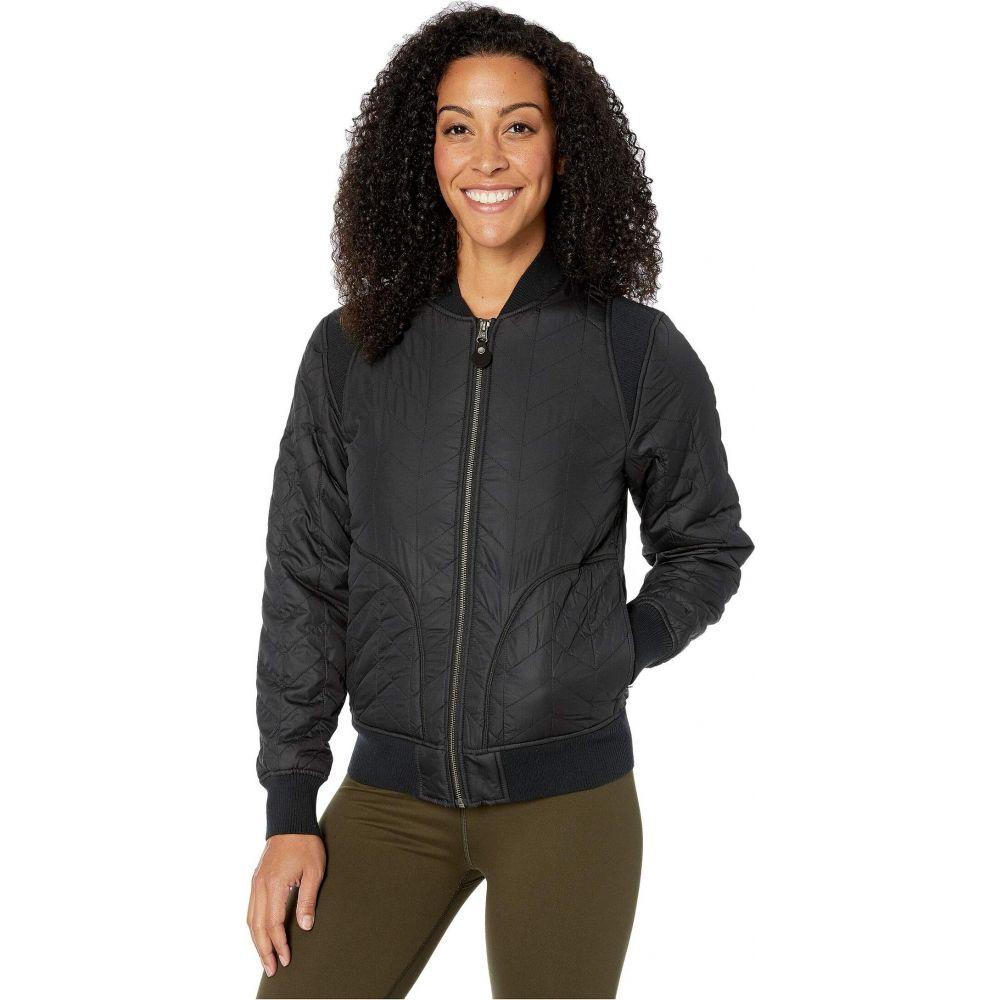プラーナ Prana レディース ジャケット アウター【Diva Varsity Jacket】Black