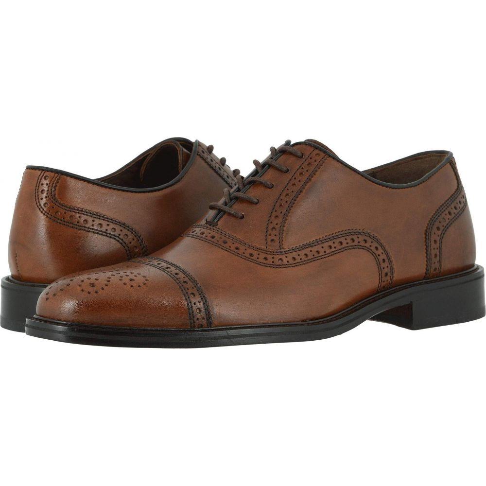 ジョンストン&マーフィー Johnston & Murphy メンズ 革靴・ビジネスシューズ シューズ・靴【Daley Cap Toe】Tan Full Grain