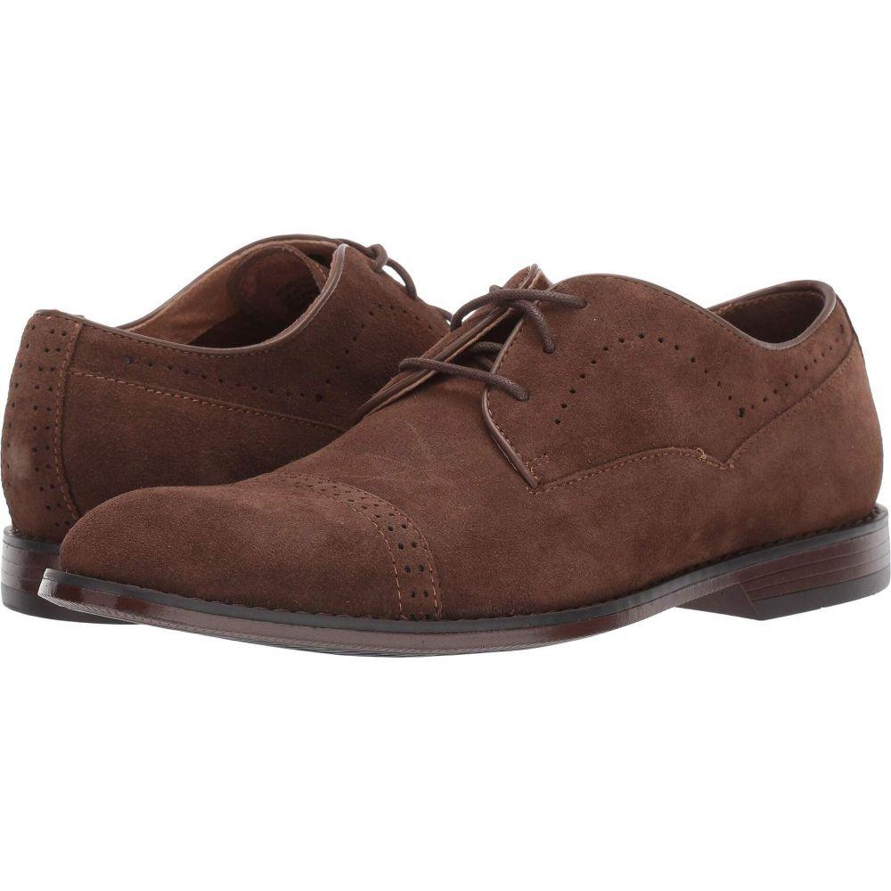 ステイシー シューズ・靴【Winslow Cap Toe Oxford】Tobacco Suede Adams 革靴・ビジネスシューズ メンズ アダムス Stacy