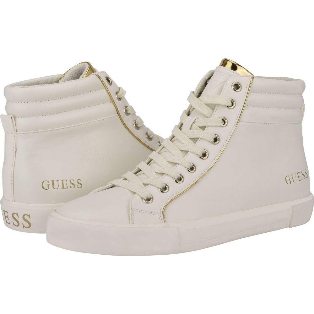 ゲス GUESS メンズ スニーカー シューズ・靴【Micro】White Multi