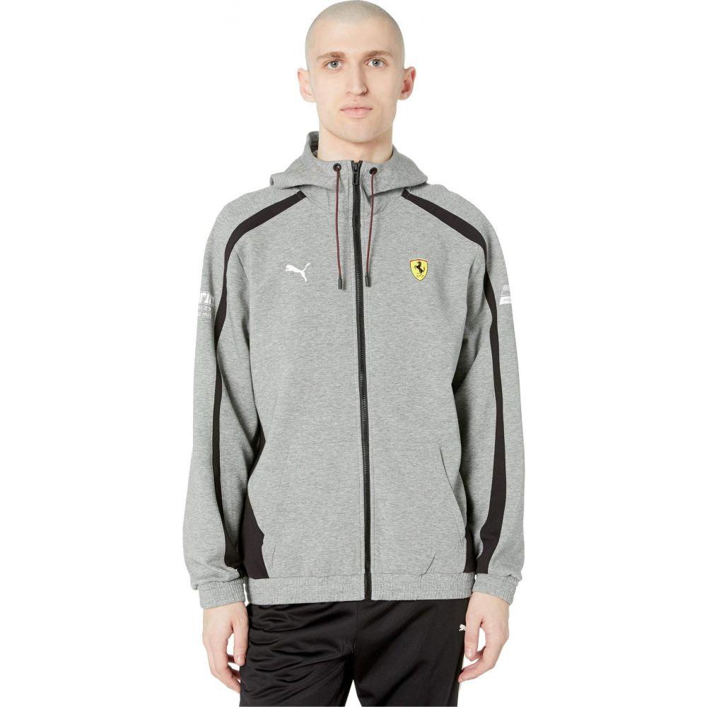プーマ PUMA メンズ パーカー フード トップス【SF Hooded Sweat Jacket】Medium Gray Heather