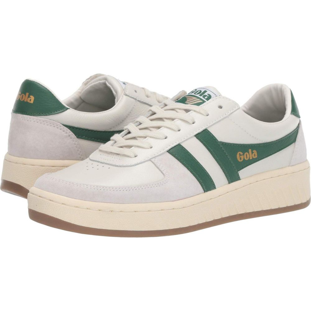 ゴーラ Gola メンズ スニーカー シューズ・靴【Grandslam 78'】Off-White/Green/Gum