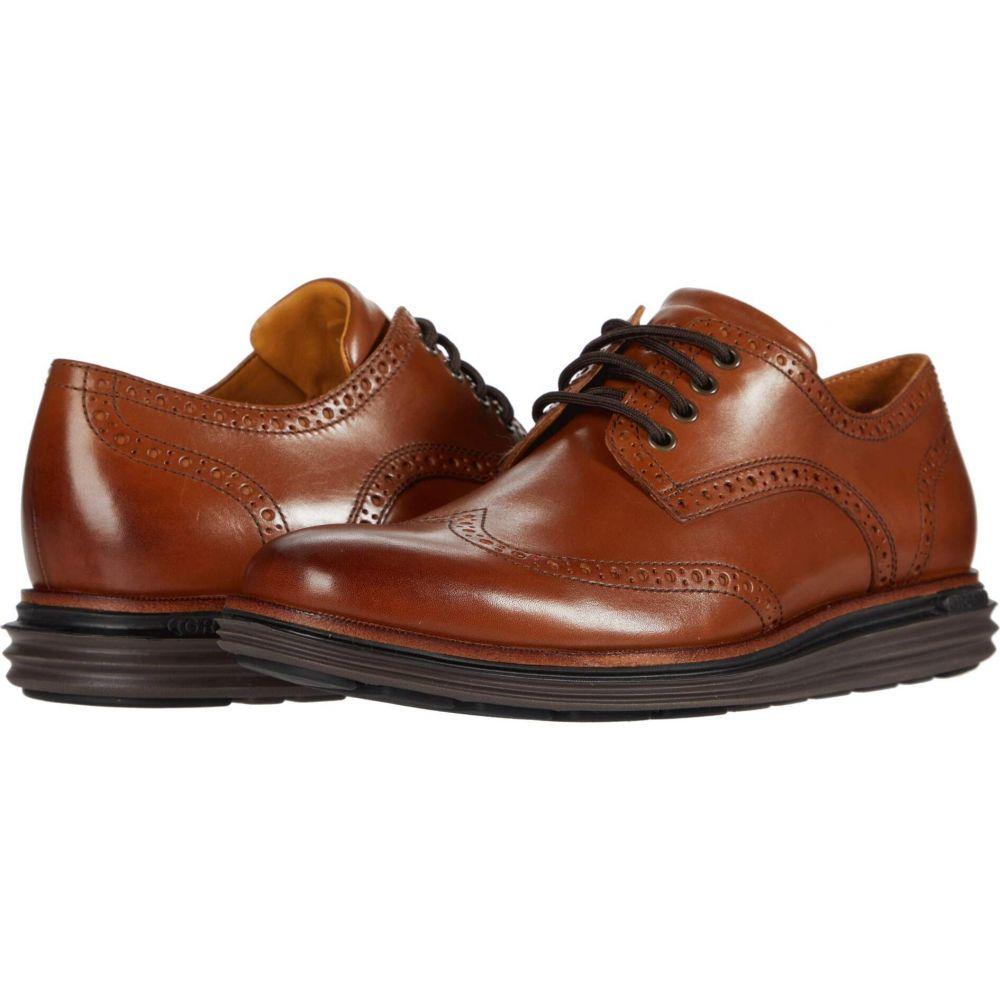 コールハーン Cole Haan メンズ 革靴・ビジネスシューズ シューズ・靴【Original Grand Wing Ox Luxury】CH British Tan Leather/Black/Java