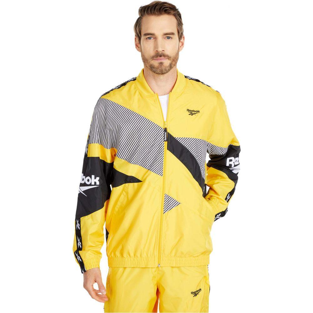 リーボック Reebok メンズ ジャケット アウター【CL V Jacket】Toxic Yellow