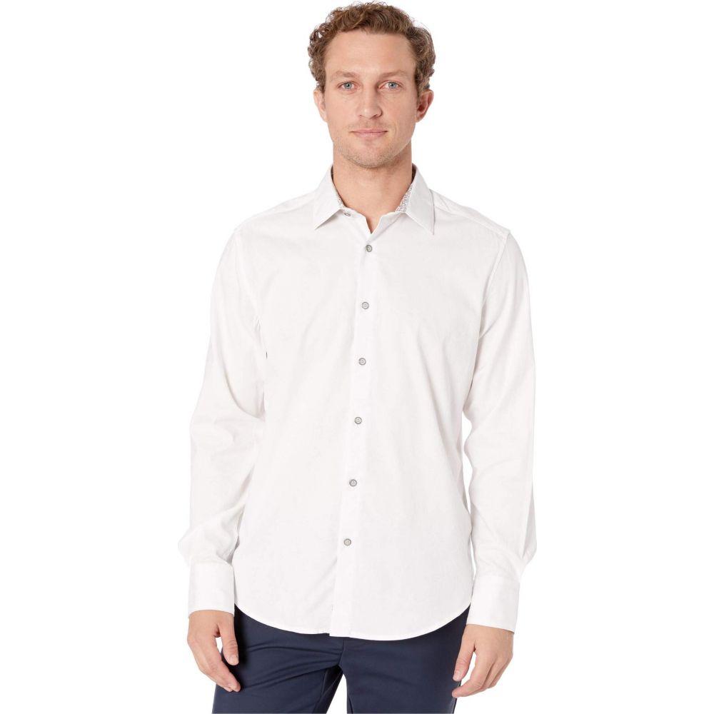 ロバートグラハム Robert Graham メンズ シャツ トップス【Andretti Button-Up Shirt】White