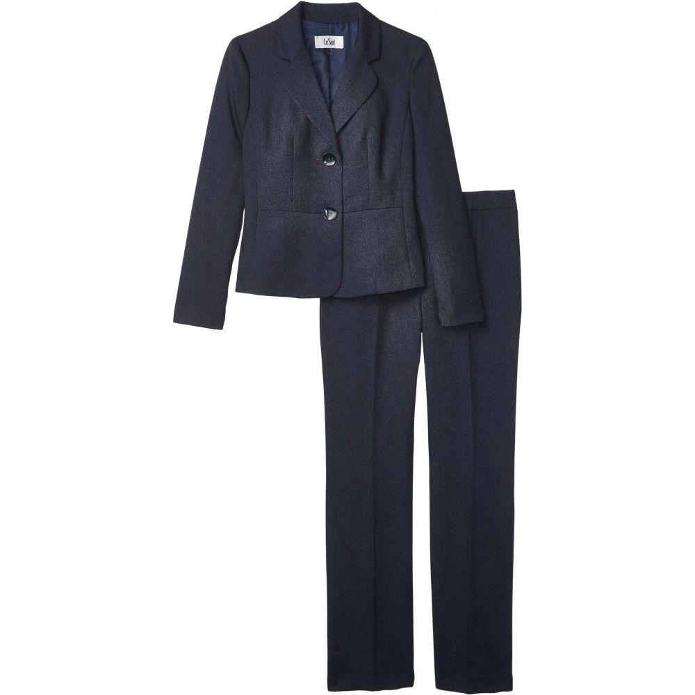 ル スーツ Le Suit レディース スーツ・ジャケット アウター【Jacket/Pants Suit Set】Blue Grey
