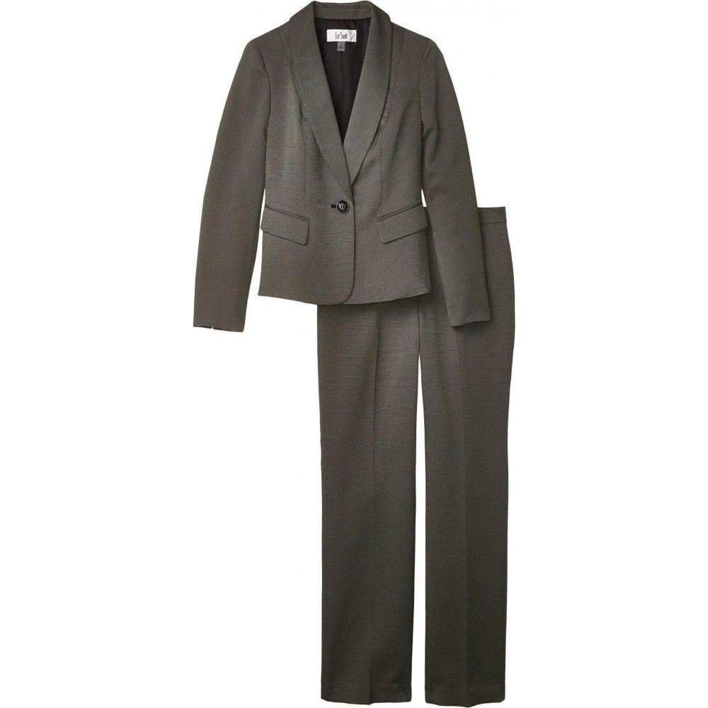 ル スーツ Le Suit レディース スーツ・ジャケット アウター【Jacket/Pants Suit Set】Canvas/Black