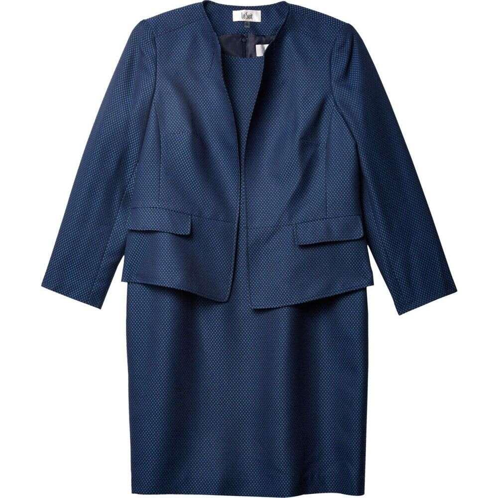 ル スーツ Le Suit レディース スーツ・ジャケット アウター【Jacket/Dress Suit Set】Indigo Navy