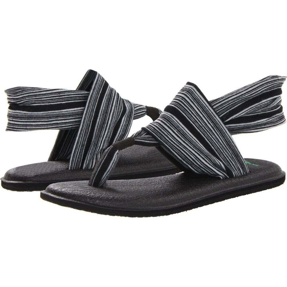 サヌーク Sanuk レディース ヨガ・ピラティス シューズ・靴【Yoga Sling 2】Black/White