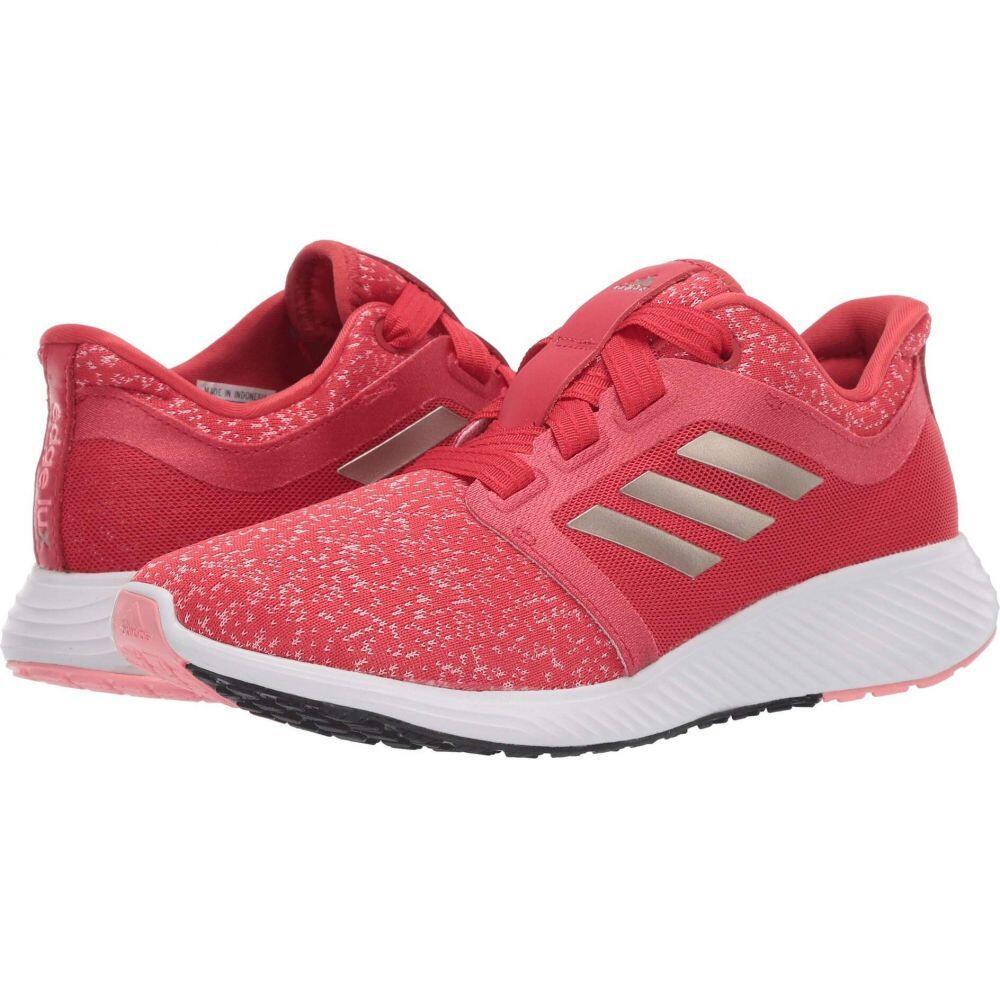 アディダス adidas Running レディース ランニング・ウォーキング シューズ・靴【Edge Lux 3】Glory Red/Cyber Metallic/Glory Pink