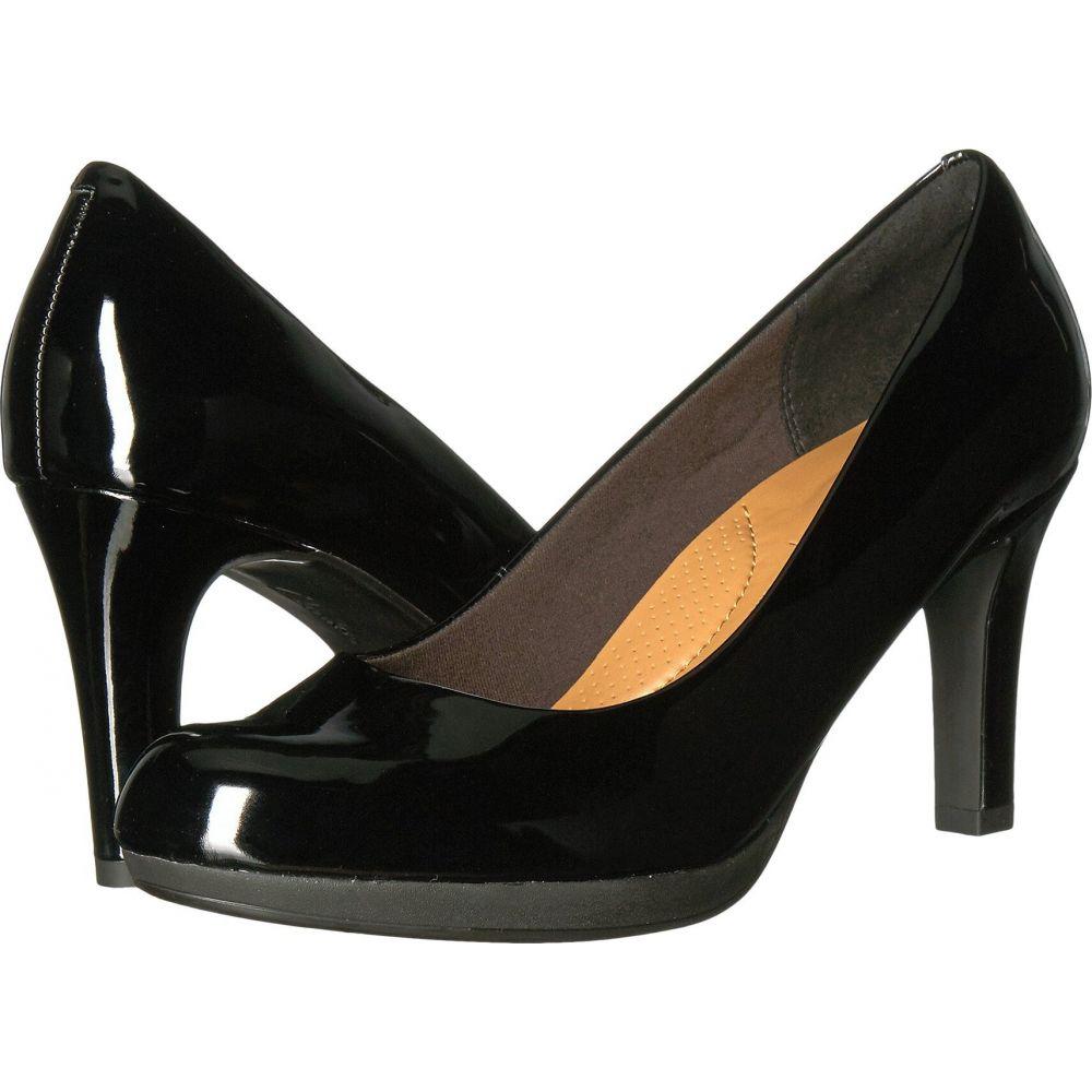 クラークス Clarks レディース ヒール シューズ・靴【Adriel Viola】Black Patent