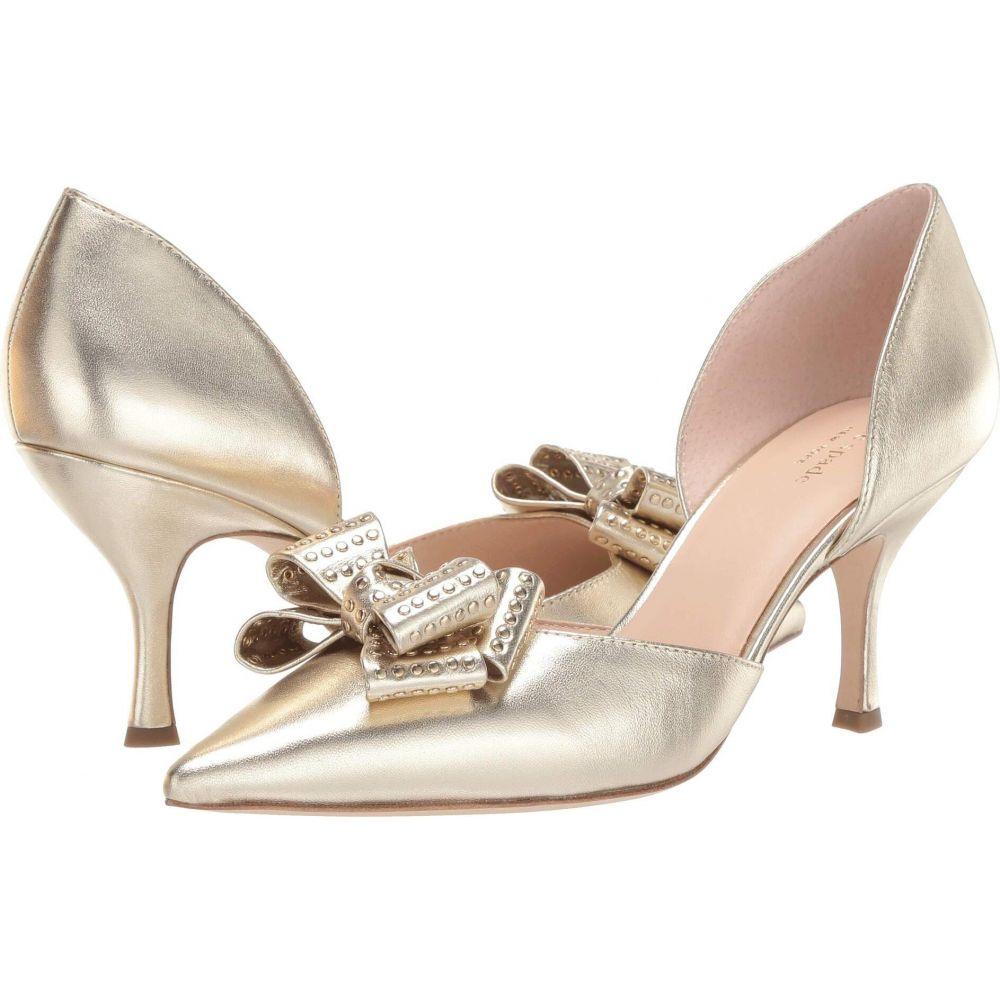 ケイト スペード Kate Spade New York レディース ヒール シューズ・靴【Sterling】Pale Gold