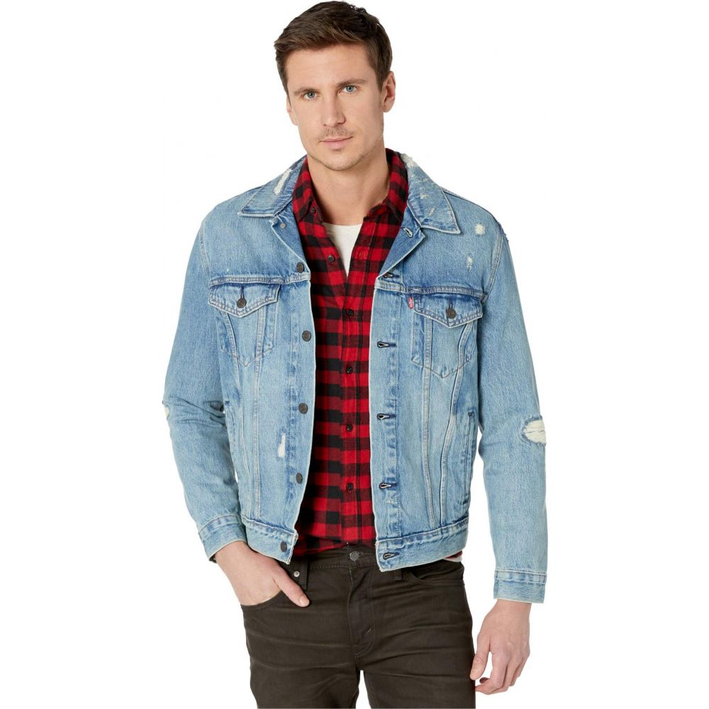 リーバイス Levi's Mens メンズ ジャケット アウター【The Trucker Jacket】Get Ripped