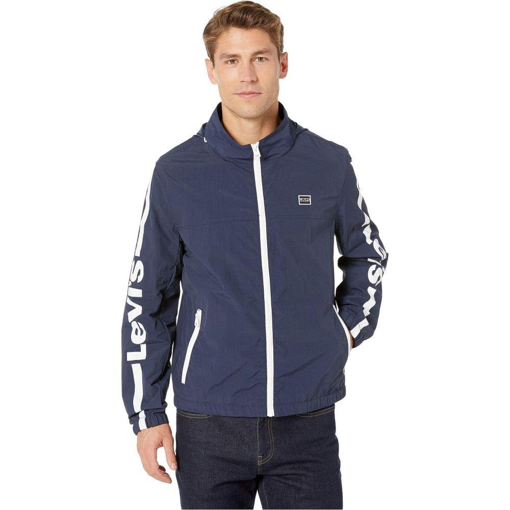 リーバイス Levi's メンズ ジャケット アウター【Taslan Logo Jacket】Navy