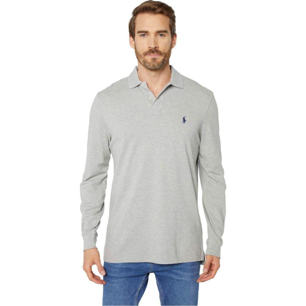 ラルフ ローレン Polo Ralph Lauren メンズ ポロシャツ トップス【Classic Fit Long-Sleeve Polo】Grey