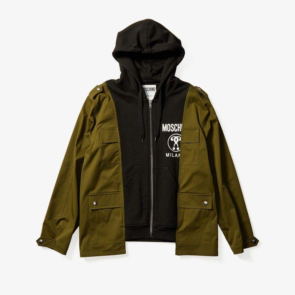 モスキーノ Moschino メンズ ジャケット アウター【Field Hybrid Jacket】Green