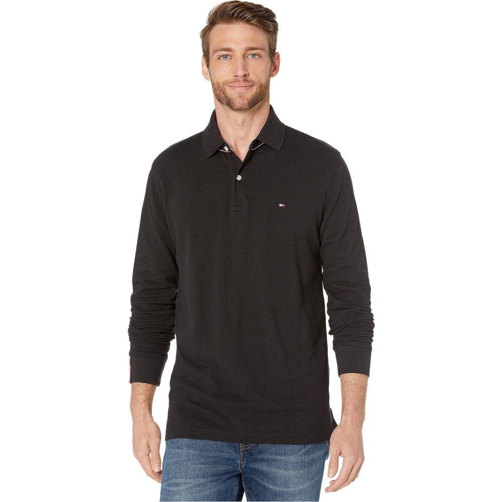 トミー ヒルフィガー Tommy Hilfiger メンズ ポロシャツ トップス【Kent Long Sleeve Polo Classic Fit】Jet Black