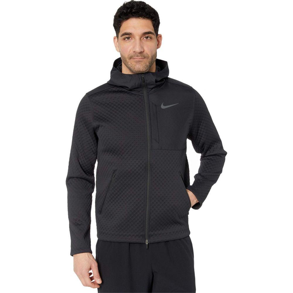 舗 ナイキ メンズ アウター ジャケット Black Dark Grey サイズ交換無料 Jacket Thermasphere Zip 男女兼用 Max Hooded Full Nike フード