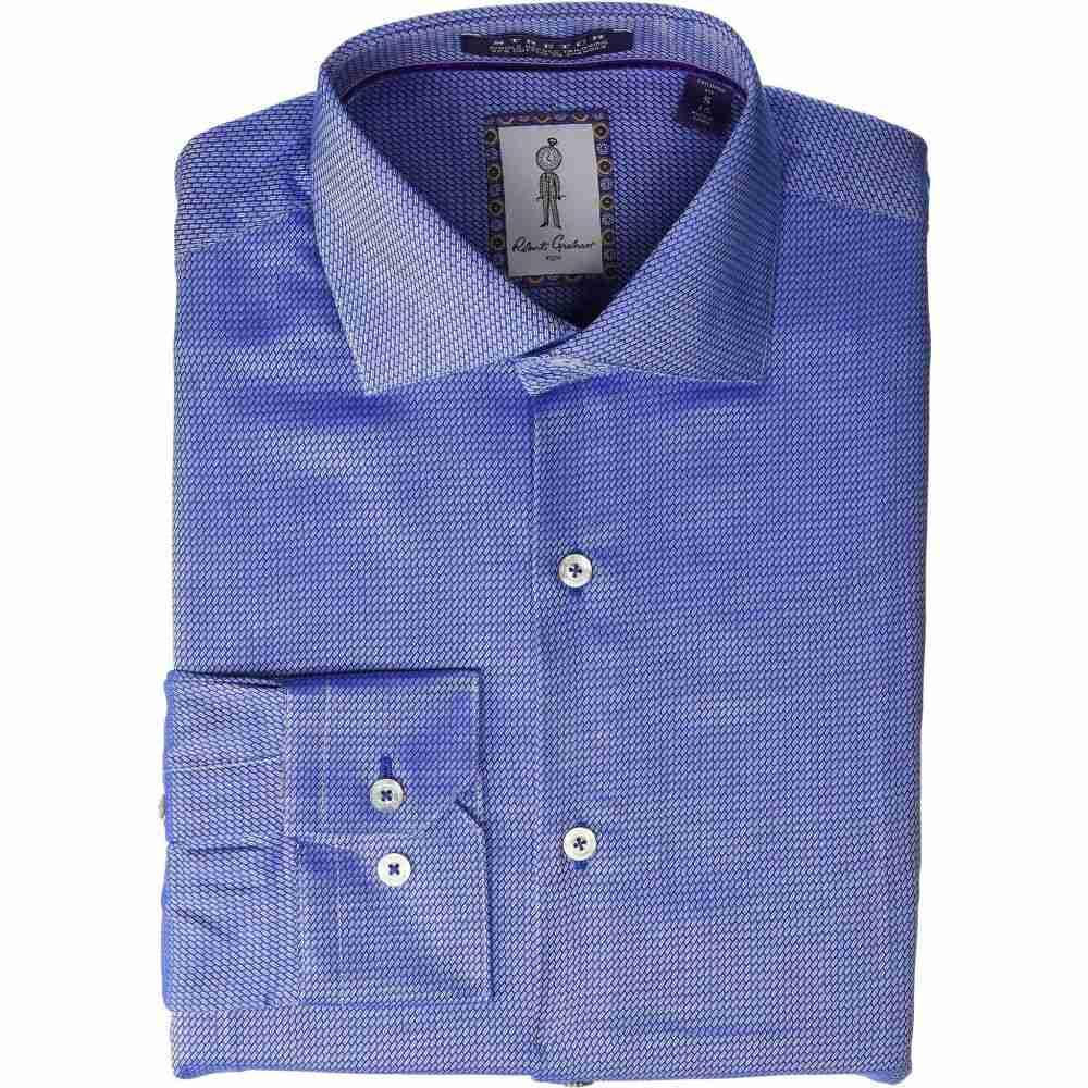 ロバートグラハム Robert Graham メンズ シャツ トップス【Roscoe Long Sleeve Dress Shirt】Blue