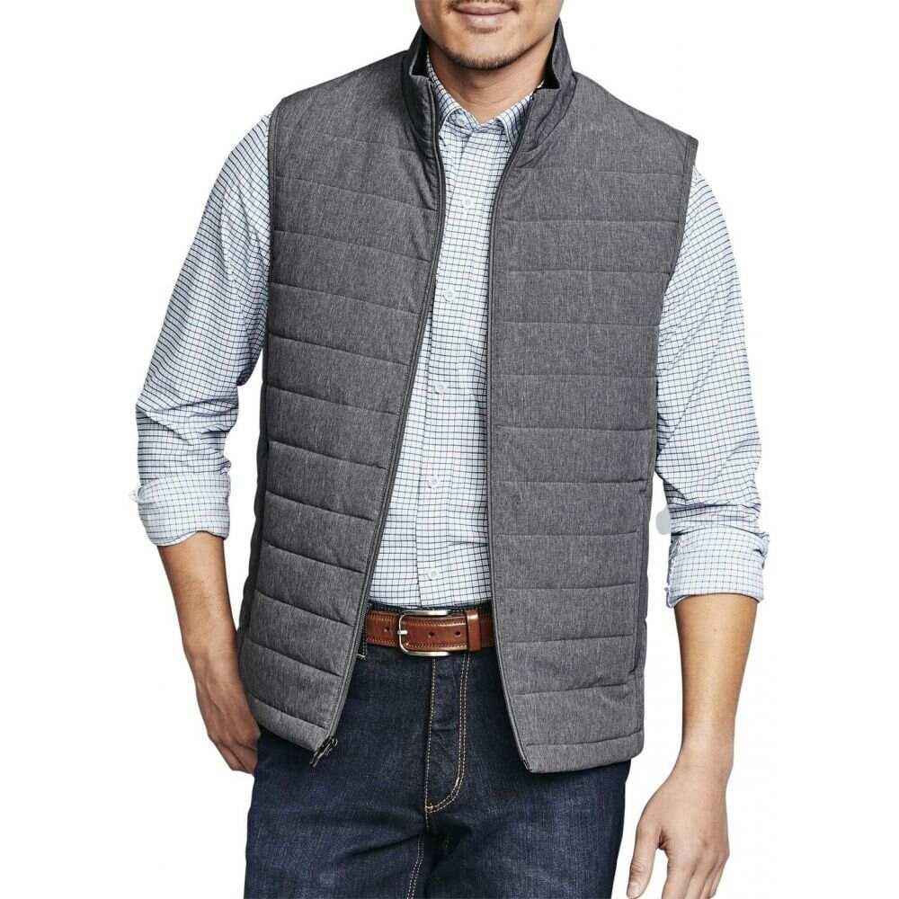 ジョンストン&マーフィー Johnston & Murphy メンズ ベスト・ジレ トップス【XC4 Vest】Gray