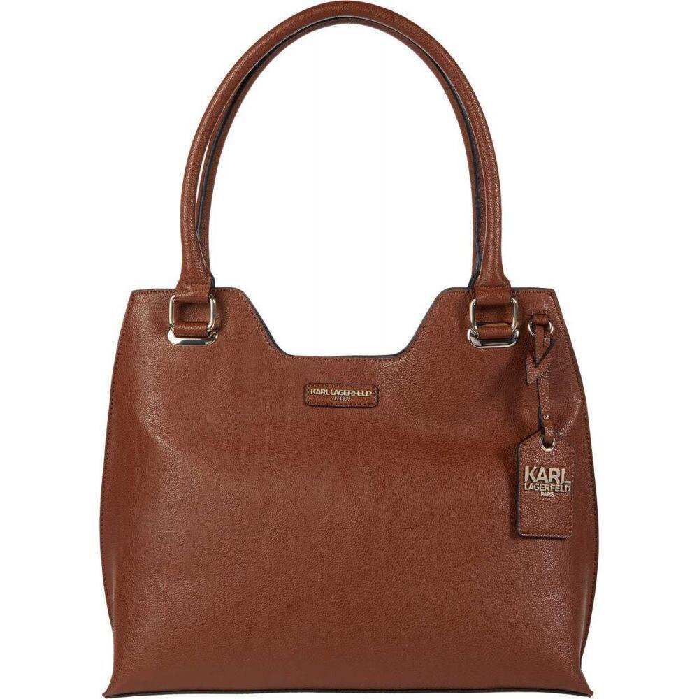 カール ラガーフェルド Karl Lagerfeld Paris レディース トートバッグ バッグ【Wilma Tote】Luggage/Black